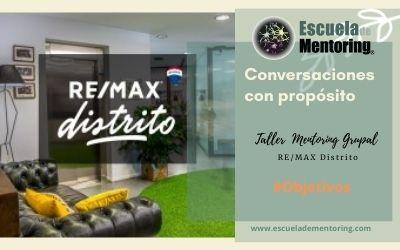 17 de Junio Mentoring Grupal para los team managers de RE/MAX Distrito en Madrid