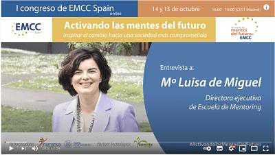 Entrevista sobre mentoring para EMCC Spain 1º Congreso «Activando las mentes del Futuro»