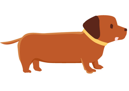 free-illustration-dachshund-girlysozai