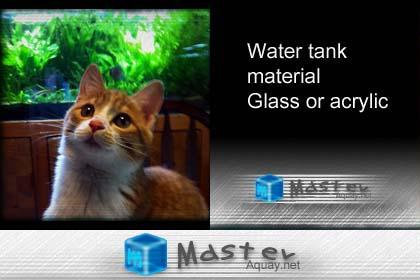 水槽の素材!選ぶならガラス製それともアクリル製?
