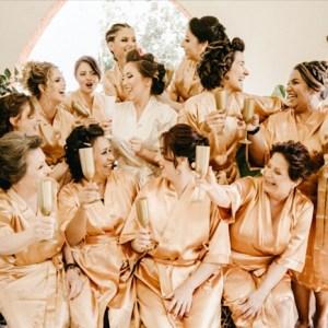 Bridesmaids  before wedding
