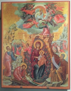 Icon of the Mother of God the Unburnt Bush