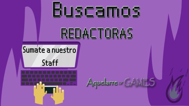 ¡Aquelarre of Games convoca redactoras a su Staff!