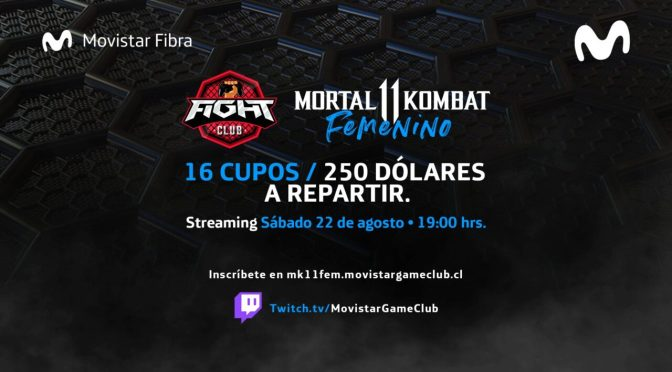 Fight Club LATAM: Torneo femenino de Mortal Kombat 11