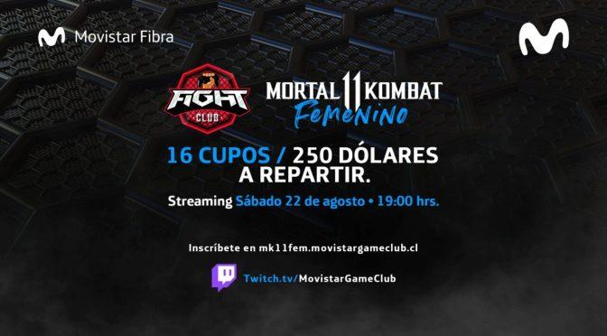 Fight Club LATAM: Torneo femenino de Mortal Kombat 11