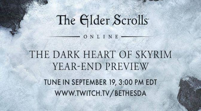 Dark Heart of Skyrim: lo nuevo de Bethesda para TESO