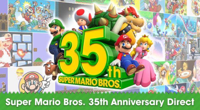 Super Mario Bros cumple 35 años desde su lanzamiento