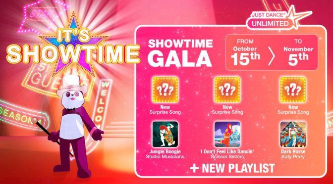 Just Dance: Showtime Gala hasta el 5 de noviembre