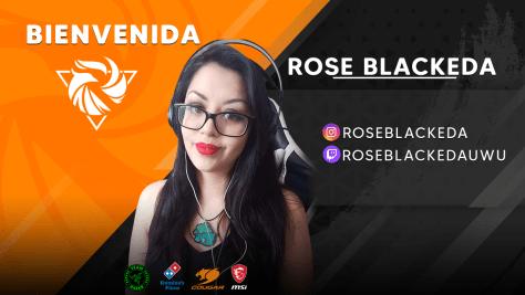 ENTREVISTAMOS A ROSE BLACKEDA, VOCALISTA Y JUGADORA DE FIGHTING GAMES