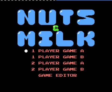 RETROGAMES: RECORDAMOS NUTS & MILK