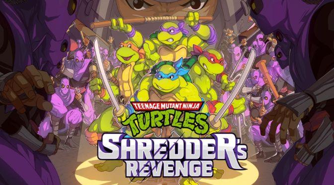 TMNT Shredder's Revenge: el beat'em up que saldrá este año