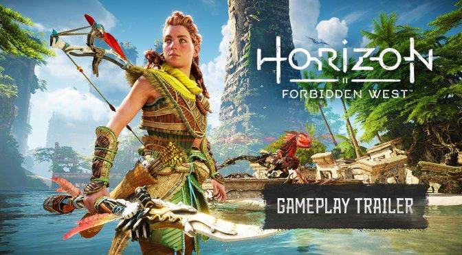 Horizon Forbidden West presentó primer gameplay tráiler