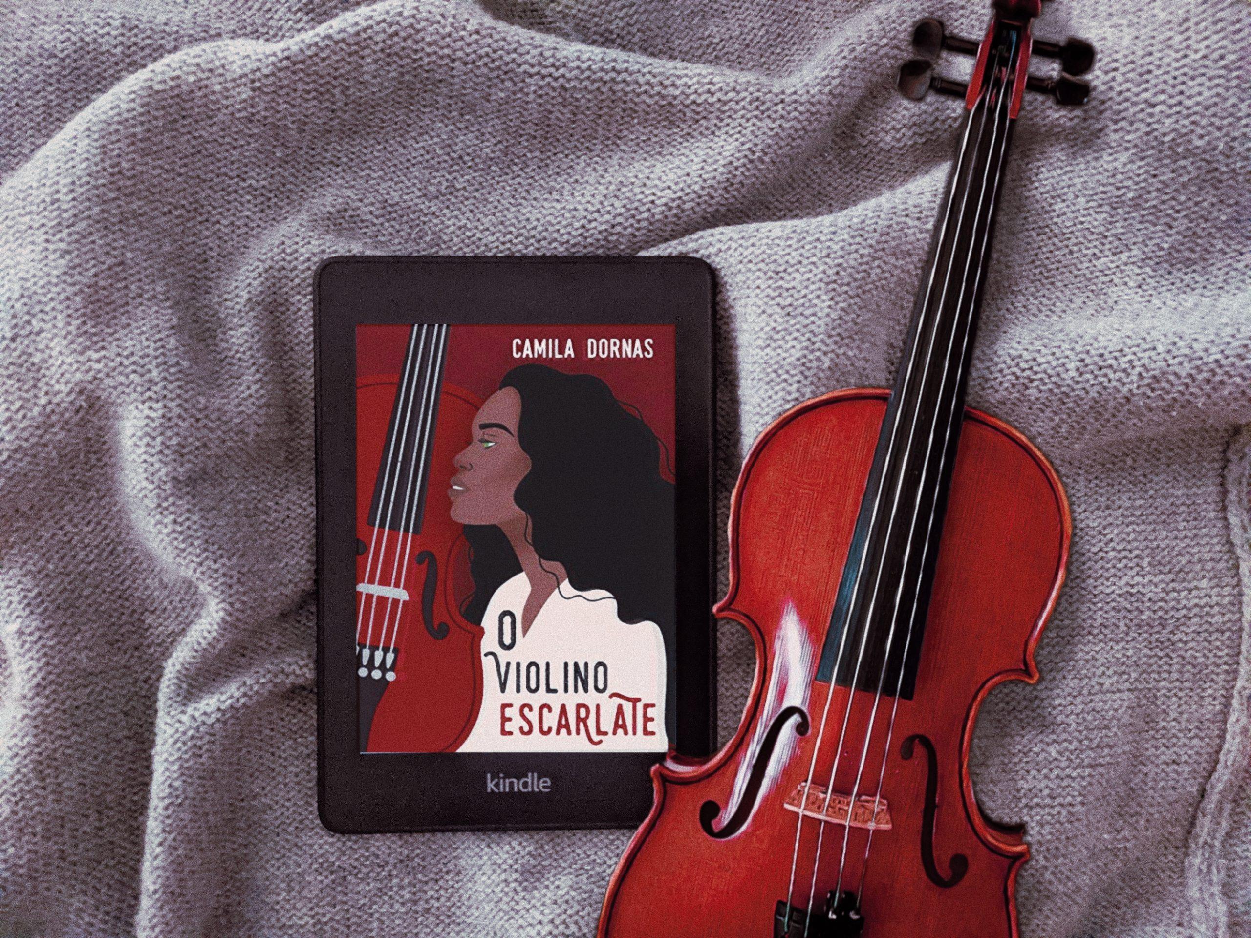 Resenha | O Violino Escarlate – Camila Dornas