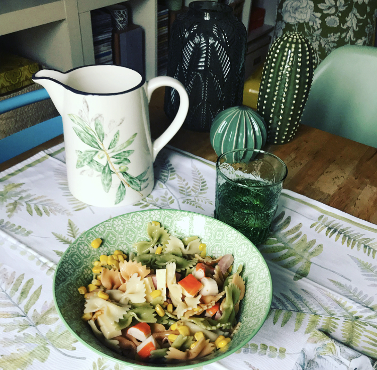 """Un almuerzo muy fresco y """"green"""""""