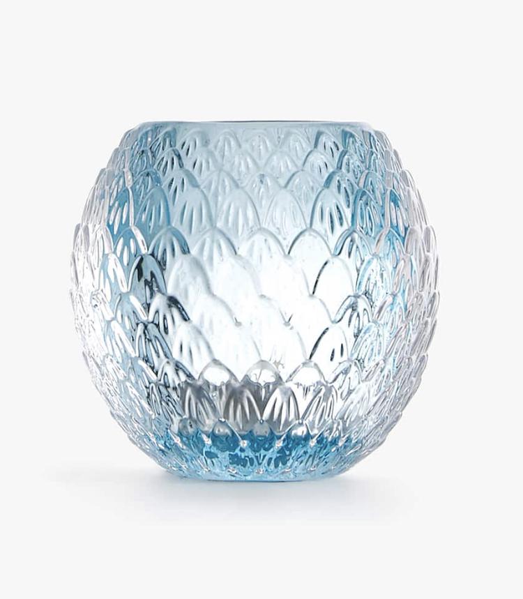 Portavelas Transparente Vidrio de Zara Home