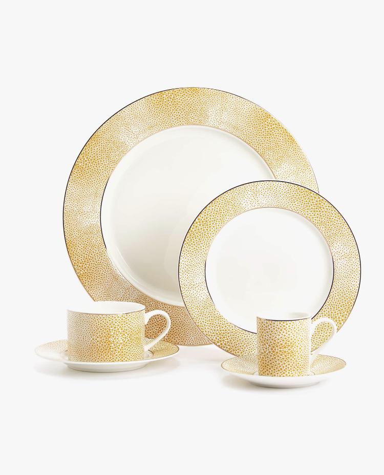 Set Porcelana Bone China Shagreen de Zara Home