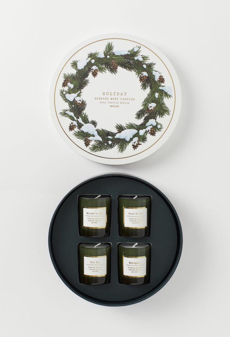 Caja Velas Aromáticas Navidad - H&M Home