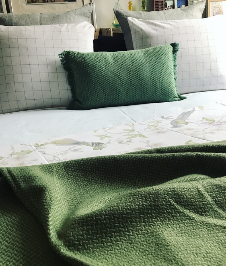 Azul y Verdes en tu Dormitorio