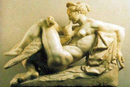 1540 -Ammanati-Bartolomeo-leda Museo Nazionale del Bargello, Florencia.