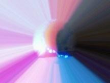 Foto Kirlian de escape de energía