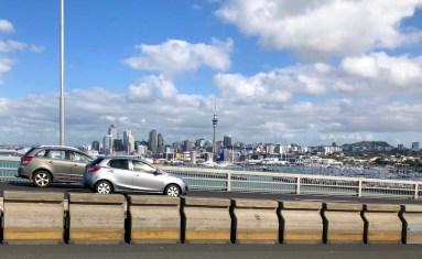 La gran ciudad de la isla norte de Nueva Zelanda
