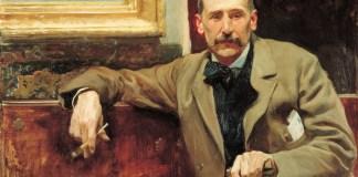 Joaquín Sorolla: Benito Pérez Galdós, 1894