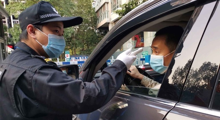 Man Yi controles coronavirus en China