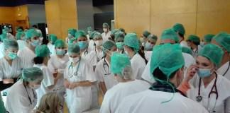 Ifema: personal sanitario 29MAR2020
