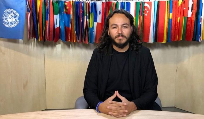 Noticias ONU | Laura Quiñones: Roberto Cerda, fundador de la ONG Restore Coral, que dirige el proyecto del Arca de Noé