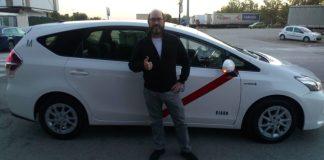 Nicolás, taxista madrileño no tiene miedo, pero si inseguridad