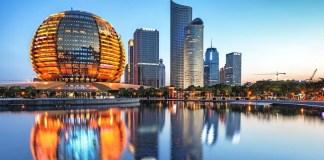 Ciudad china de Hangzhou