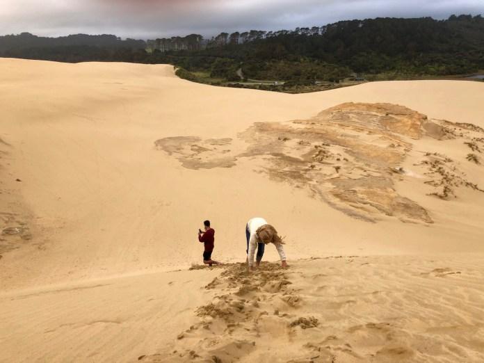 Gran duna de Te Paki. Nueva Zelanda