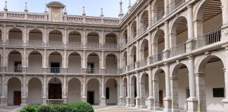 Patio de la Universidad de Alcalá de Henares