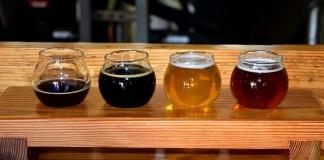 Cuatro variedades de cerveza artesana