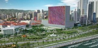 Hospital Niño Panamá maqueta