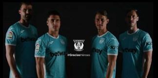 Leganés CF camisetas héroes