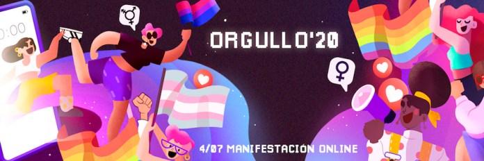 Orgullo 2020 baner 4JUL