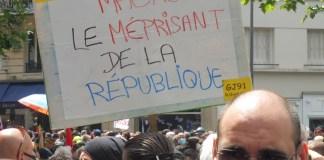 Paris 16JUN2020 Macron méprisant