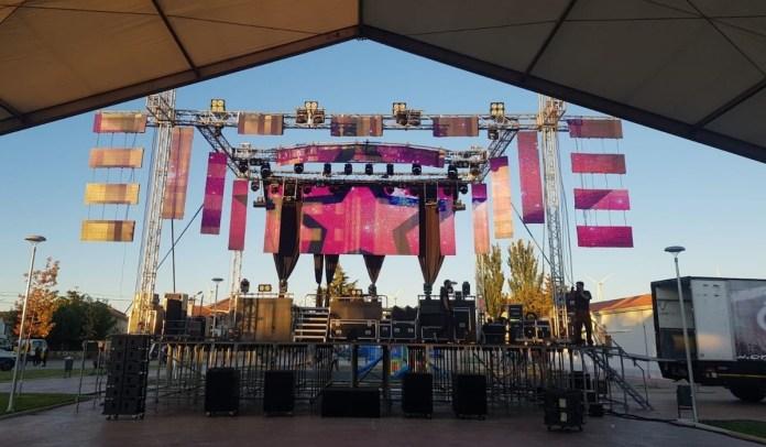 Yeray Arencibia escenario festejos