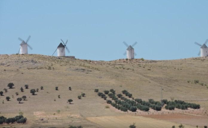Castilla La Mancha Molinos de viento