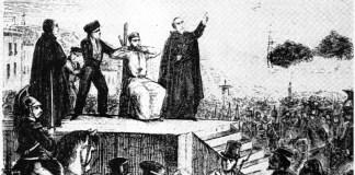 José Barceló Cassadó ejecución 6JUN1855
