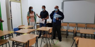 Galicia colegios aulas