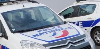 Policía nacional Francia