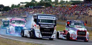 Sanse Carreras de camiones circuito del Jarama
