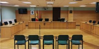 Tribunal sala de vistas