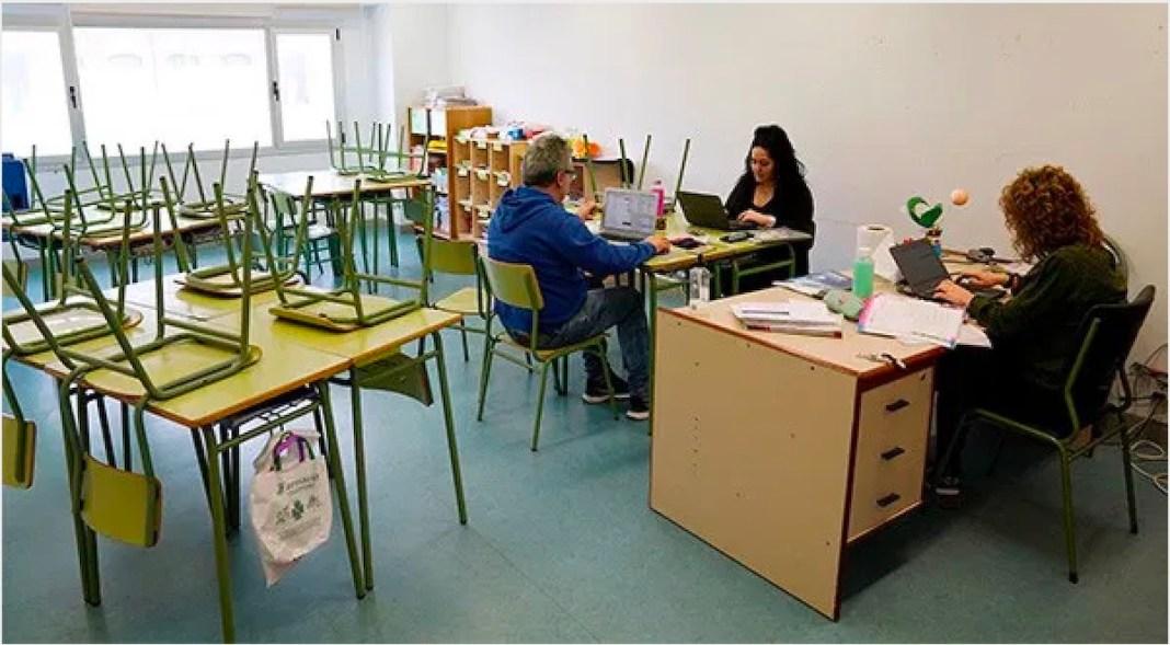 UGT profesores enseñanza pública