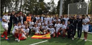 El Alcobendas celebra su título de la Copa del Rey 2020