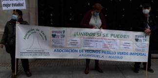 Vecinos de la #AVVerdeImperial por la Sanidad Pública, 15NOV2020