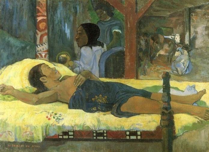 Gauguin El hijo de Dios