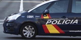 Vehículo policial 091
